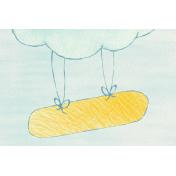 Sweet Dreams- Journal Cards- Cloud 6x4