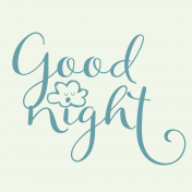 Sweet dreams- Journal Cards- Goodnight 4x4