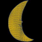 Sweet Dreams- Elements- Dark Gold Star