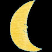 Sweet Dreams- Elements- Light Gold Moon
