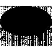 Talk Bubble Shapes- Talk Bubble 1