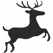 Christmas Day- Elements- Deer