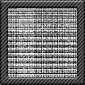 Christmas Day- Elements- Black Frame