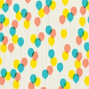 Let's Get Festive- Papers- Balloons