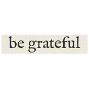 New Years Resolutions- Be Grateful