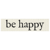 New Years Resolutions- Be Happy