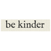 New Years Resolutions- Be Kinder