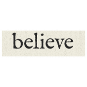 New Years Resolutions- Believe