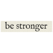 New Years Resolutions- Be Stronger