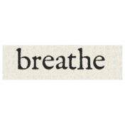 New Years Resolutions- Breathe
