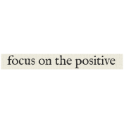 New Years Resolutions- Focus on Positive