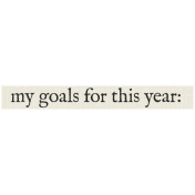 New Years Resolutions- My Goals