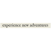New Years Resolutions- New Adventures