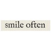 New Years Resolutions- Smile Often