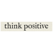 New Years Resolutions- Think Positive
