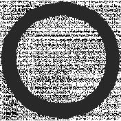 Paint Kit 02- Art Journal Marks- Small Circle 09