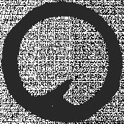 Paint Kit 02- Art Journal Marks- Small Circle 10
