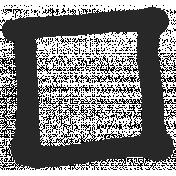 Paint Kit 02- Art Journal Marks- Small Rectangle 25