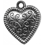 Heart Charms- Template- Heart 1