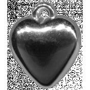 Heart Charms- Template- Heart 4