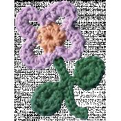 Crafty Evening- Crochet- Flower 02