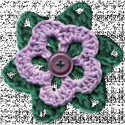 Crafty Evening- Crochet- Flower 03