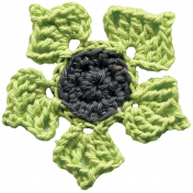 Crafty Evening- Crochet- Flower 04