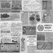 Vintage Collage Sheet Templates- Template 1