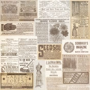 Vintage Collage Sheets- Sheet 1