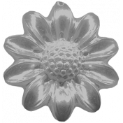 Design Pieces No.6 Templates- Flower Button Template