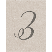 Special Day Elements- Number 3