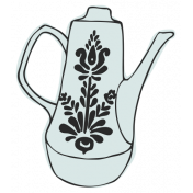 Picnic Day Elements- Teapot