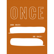 One Of A Kind Card 06