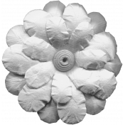 Flowers No.11- Flower Template 6