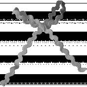 Ribbons No.8- Ribbon Template 4