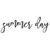 Summer Day Elements- Summer Day