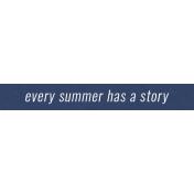 Summer Day Elements- Word Strip 6