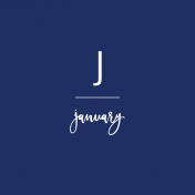 Back To Basics Month Cards- January 60