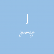Back To Basics Month Cards- January 66