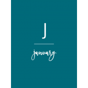 Back To Basics Month Cards- January 67
