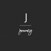 Back To Basics Month Cards- January 81