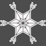 Winter Day Elements- Star 2