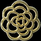Design Pieces No.8- Gold Flower