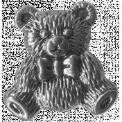 Buttons No.7- Bear Template