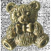 Buttons No.7- Bear