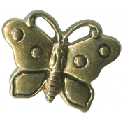 Buttons No.7- Butterfly