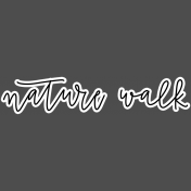 Nature Escape- Walk Sticker