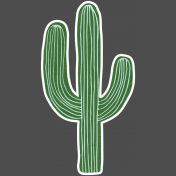 Mexican Food Day Elements- Cactus 2