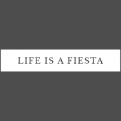 Mexican Food Day Elements- Word Strip Life