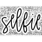 Digital Day Elements- Selfie Sticker